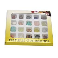 Самородки драгоценных домой отображения украшения, 12~19x9~16x5~11 мм; около 20 шт / коробка