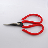 Red Carbon Steel Scissors(PT-Q002-5)