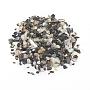 натуральные пресноводные раковины, осколки оболочки, окрашенный, Нет отверстия, чип, черный, 1~10x1~4x0.5~2 mm