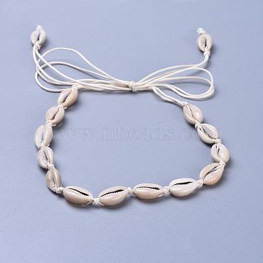 PaleGoldenrod Shell Necklaces