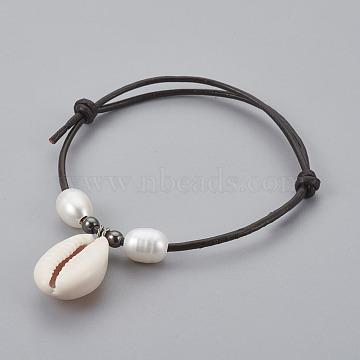 Black Leather Bracelets