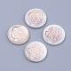 cabochons de coquillages d'eau douce(BSHE-S622-03)-1