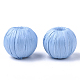 Handmade Raffia Woven Beads(WOVE-Q077-20C-04)-1