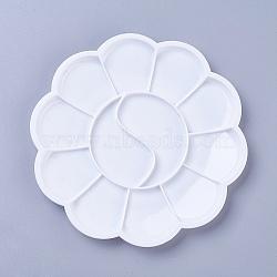 Пластиковая акварелью, цветок, белые, 144x9 мм(TOOL-WH0044-01)