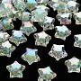 Aquamarine Star Acrylic Beads(TACR-S152-02D-SS2111)