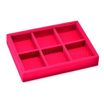 DeepPink Velvet Presentation Boxes