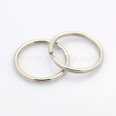 Iron Ring Key Clasp Findings(X-IFIN-P002-02P)-2
