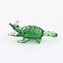 Green Other Animal Lampwork Decoration(X-LAMP-J084-03)