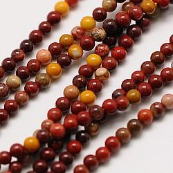 """Mookaite naturel chapelets de perles rondes, 2mm, trou: 0.8mm; environ 184 pcs/chapelet, 16""""(X-G-A130-2mm-15)"""