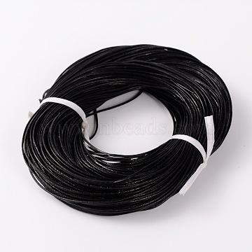 1.5mm Black Cowhide Thread & Cord