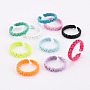 Mixed Color Brass Finger Rings(RJEW-S045-102-NR)