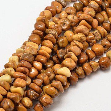 Natural Gemstone Chip Beads Strands, 7~9x7~9mm, Hole: 1mm; about 78~83pcs/strand, 15.7inches(G-P091-45)