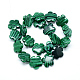 Synthetic Malachite Bead Strands(G-T003-16mm-06)-2