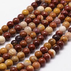 """Mookaite naturel chapelets de perles rondes, 6mm, trou: 1mm; environ 68 pcs/chapelet, 16""""(G-G735-18-6mm)"""