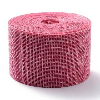 ruban d'emballage en polyester imitation lin(OCOR-G007-01L)-1