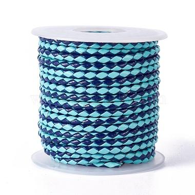 DeepSkyBlue Cowhide Thread & Cord