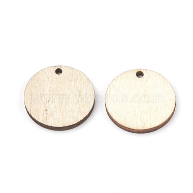 Undyed Wood Pendants(WOOD-T008-13)-2