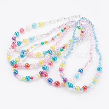 Mixed Color Acrylic Necklaces