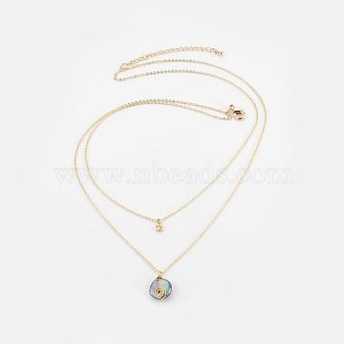 DarkSlateBlue Brass Necklaces