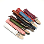 Mixed Color Leather Watch Band(WACH-F017-02)