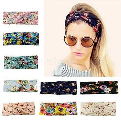 """Эластичные повязки для девочек, аксессуары для волос, разноцветные, 19.68"""" (500 мм) x80mm(OHAR-Q278-28)"""