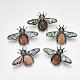 Natural Agate Broochs/Pendants(G-S353-08K)-1