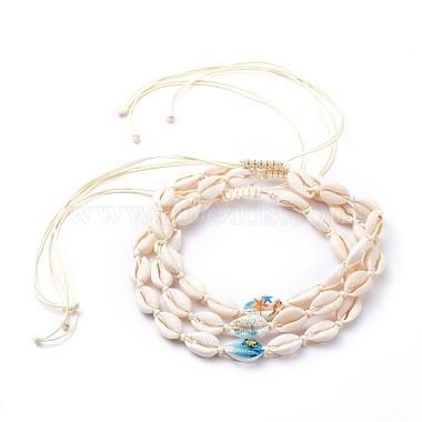 Cornsilk Shell Necklaces