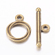 Tibetan Style Alloy Toggle Clasp(X-MLF0539Y-NF)-1