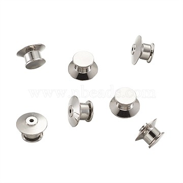 Platinum Brass Lapel Pin Backs