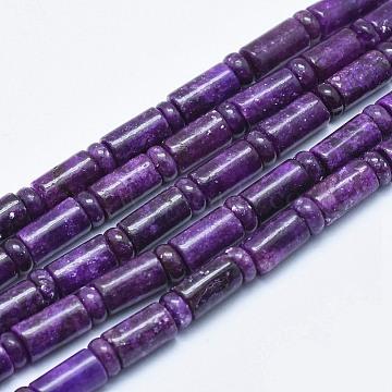 10mm Column Kunzite Beads