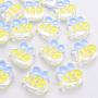 Yellow Bees Acrylic Beads(MACR-S374-06A-01)