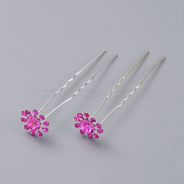 Silver Iron Hair Forks