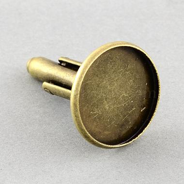 Brass Cuff Settings(X-KK-S132-18mm-KN001AB)-2