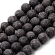 Natural Snowflake Obsidian Beads Strands(G-Q462-72-10mm)-1