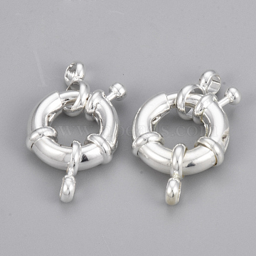 Silver Brass Clasps