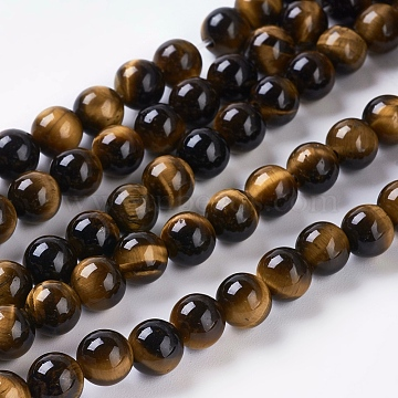 6mm Round Tiger Eye Beads