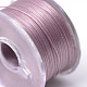 Special Coated Polyester Beading Threads for Seed Beads(OCOR-R038-18)-2