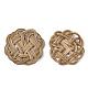 Handmade Reed Cane/Rattan Woven Beads(WOVE-Q077-08)-2