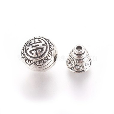 Tibetan Silver Guru Bead Sets(X-PALLOY-N0063-05AS)-2