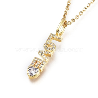Clear Stainless Steel Necklaces