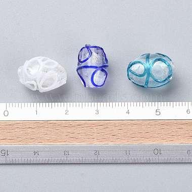 Handmade Lampwork Beads(LAMP-R112-M)-4