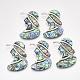 Abalone/Paua Shell Broochs/Pendants(SHEL-S275-53A)-1