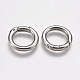 304 Stainless Steel Spring Gate Rings(STAS-O114-023P)-1