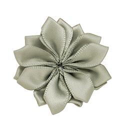 Lightgrey main tissé accessoires de costumes de fleurs, 37x37x7mm(X-WOVE-QS17-23)
