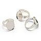 Adjustable Iron Pad Ring Settings(X-MAK-Q006-37)-1