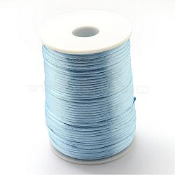Cordon de polyester, bleu clair, 1.5 mm; environ 100 m/rouleau(OCOR-Q022-17)