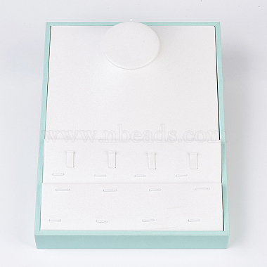 White Imitation Leather Other Displays