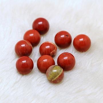 Natural Red Jasper Round Ball Beads, Gemstone Sphere, No Hole/Undrilled, 12mm(X-G-A127-12mm-37)