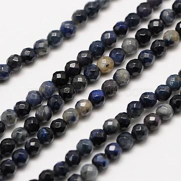 3mm Round Sodalite Beads