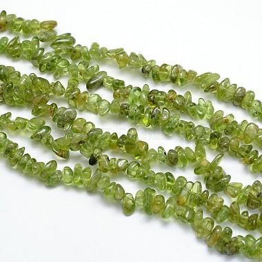 3mm Nuggets Peridot Beads